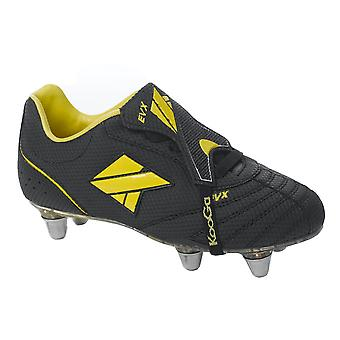 KOOGA EVX low cut soft toe rugby boot junior [black]