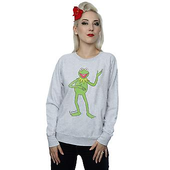 Muppets Women's Classic Kermit Sweatshirt