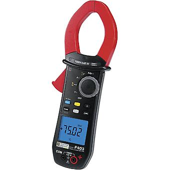 Clamp meter, Handheld multimeter Digital Chauvin Arnoux F403 Calibrated to: Manufacturer's standards (no certificate) C