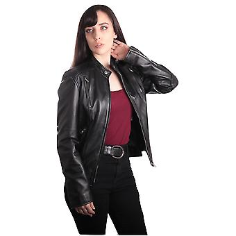 Taree Womens Leather Jacket
