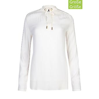 Bruno banani chiffon blouse plus size blouse white