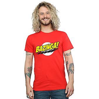 The Big Bang Theory Men's Sheldon Bazinga T-Shirt