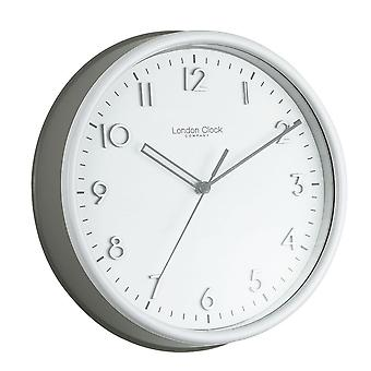 25 cm Grey Kitchen Clock