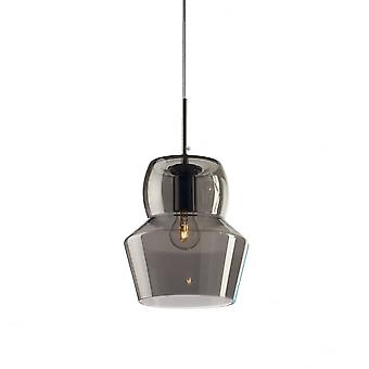 Ideal Lux Zeno 22cm Frosted Glass Pendant Shade