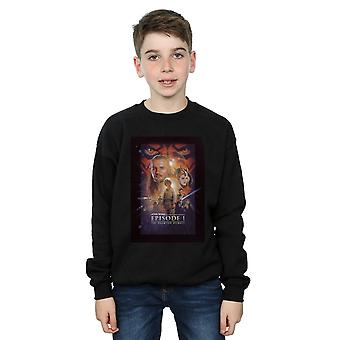 Star Wars Boys Episode I Movie Poster Sweatshirt
