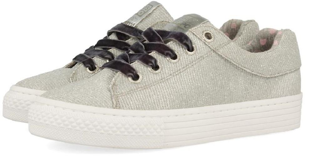 Gioseppo Girls 43946 Canvas chaussures argent