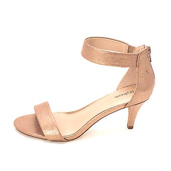 Style & Co. Womens Paycee Suede Open Toe Ankle Strap Classic Pumps