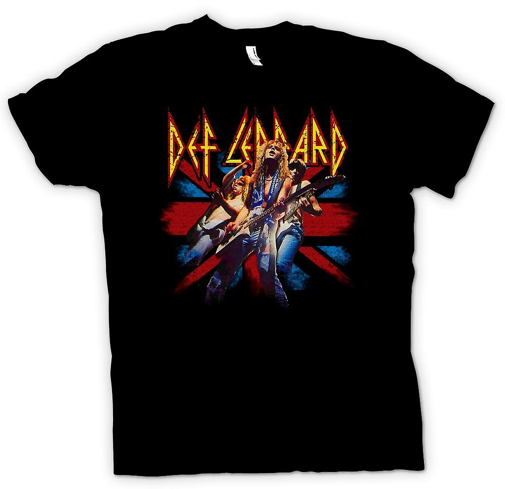 Mens T-shirt - Def Leppard - British Rock