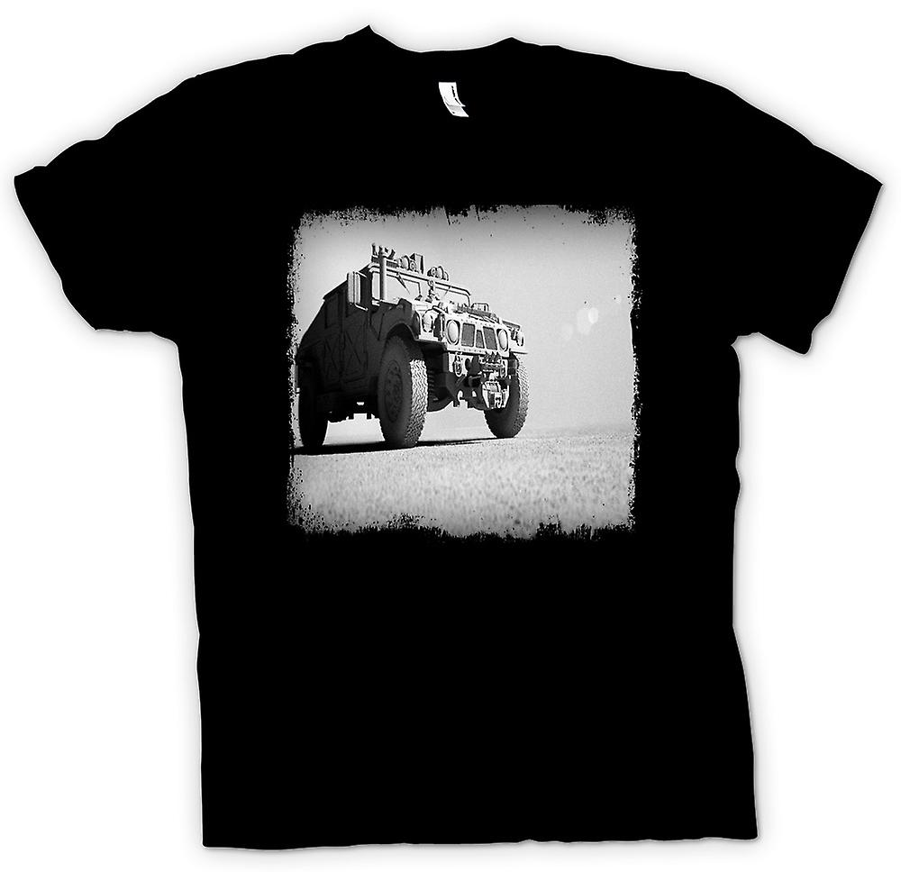 Kids T-shirt - Amerikaanse leger Humvee - Desert Warrior