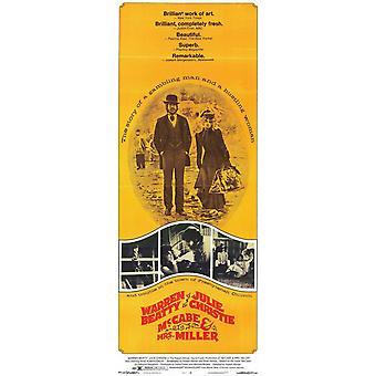 McCabe & Mrs Miller film affisch (11 x 17)