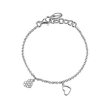 ESPRIT kids Bangle silver cute hearts ESBR91835A135