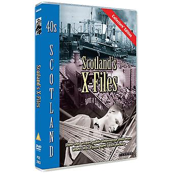 Scotland's X-Files DVD
