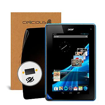 Celicious personvern 2-veis visuelle svart ut Screen Protector for Acer Iconia B1