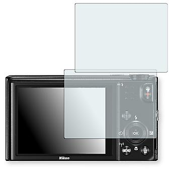 Nikon COOLPIX S9600 display protector - Golebo crystal clear protection film