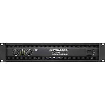 Dynacord SL 2400 PA amplifier RMS power per channel (at 4 Ohm): 1200 W
