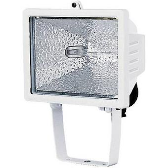 Reflector al aire libre HV halógeno 400 W EEC: C (A ++ - E) R7s Brennenstuhl H500 blanco