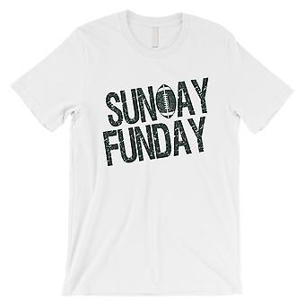 SUNDAY FUNDAY T-Shirt New York NY Mens Funny Game Day Tee Shirt