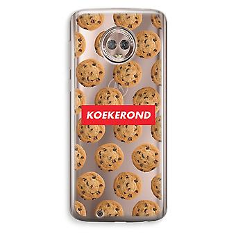 Motorola Moto G6 Transparent Case (Soft) - Koekerond