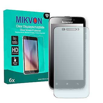 Lenovo S650 Screen Protector - Mikvon Clear (Retail Package with accessories)