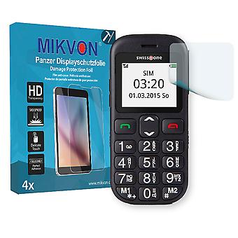 Swisstone BBM 320c  Screen Protector - Mikvon Armor Screen Protector (Retail Package with accessories)