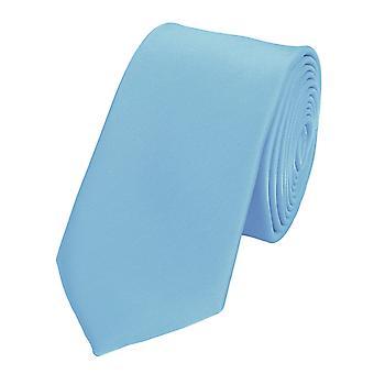 Schlips Krawatte Krawatten Binder 6cm hellblau  Fabio Farini