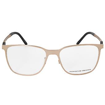 Porsche Design P8275 B Square | Matte Gold| Eyeglass Frames