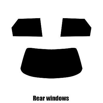 Pre cut window tint - Daihatsu Applause 4-door Saloon - 1998 to 1998 - Rear windows