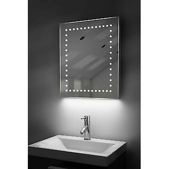 Ambient Shaver LED Bathroom Mirror With Demister Pad & Sensor K39s