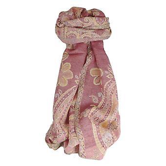 Muffler Scarf 4323 in Fine Pashmina Wool Heritage Range by Pashmina & Silk