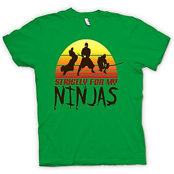 Kids T-shirt - strengt For min Ninjas - sjove