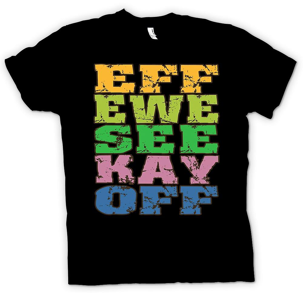 Kids t-shirt - Eff oveja ver Kay Off - divertido crudo