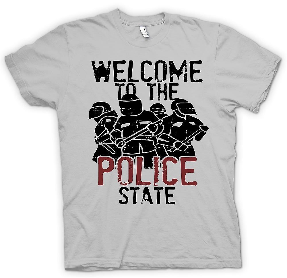 Camiseta para hombre - Bienvenidos al estado de policía