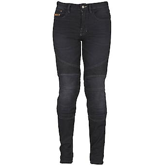 Furygan Black Purdey Womens Motorcycle Jeans