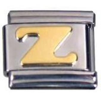 TOC RVS Letter Z Italiaanse charme voor Italiaanse armband