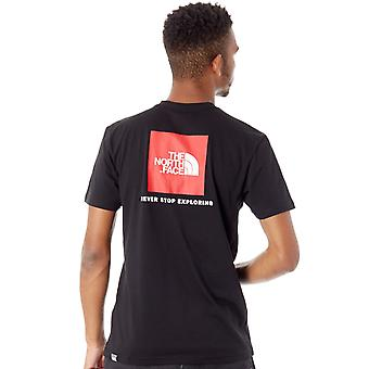The North Face TNF Black Red Box T-Shirt