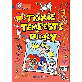 Diario di Trixie Tempest: banda 16/Sapphire fase 7, BK 9 (Collins Big Cat)