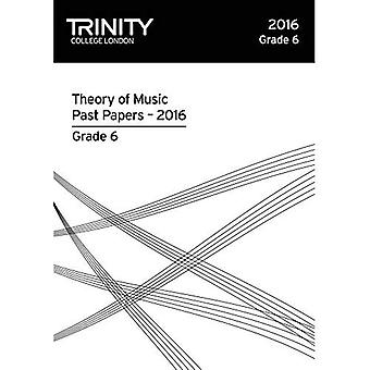 Trinity College London Theory of Music Past Paper� (2016) Grade 6