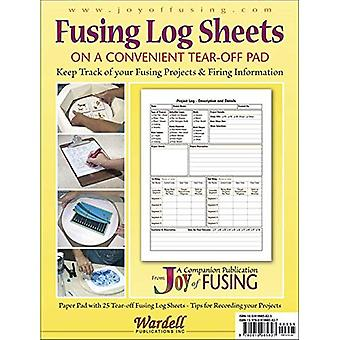 Fusing Log Sheets: 25 Pre-Printed Sheets on a Convenient Tear-Off Pad