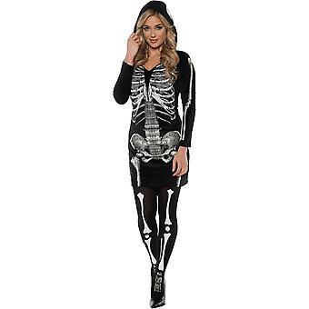 Costume adulto di Halloween Scheletro - 10222