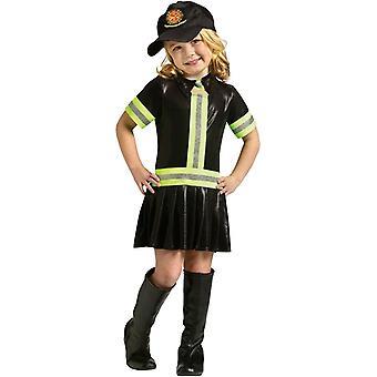 Fire Girl Toddler Costume