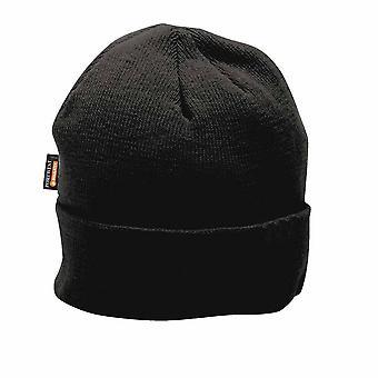 Portwest - Knit Cap Insulatex Lined Black Regular