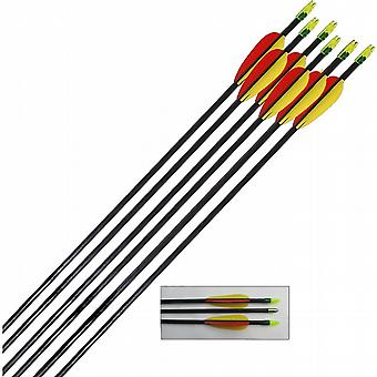 Archery Target Arrows Fibreglass 30 inch (Pack of 12)