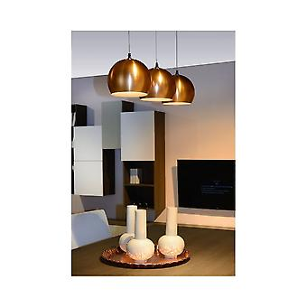 Lucide SIDI Ceiling Pendant Light Finished In Copper
