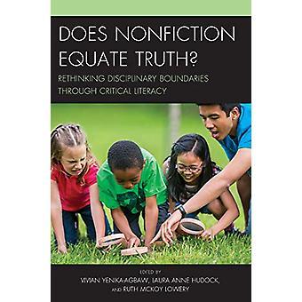 É que o não-ficção equiparar a verdade? -Repensando fronteiras disciplinares thr