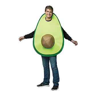 Adult Avocado Novelty Food Halloween Fancy Dress Costume