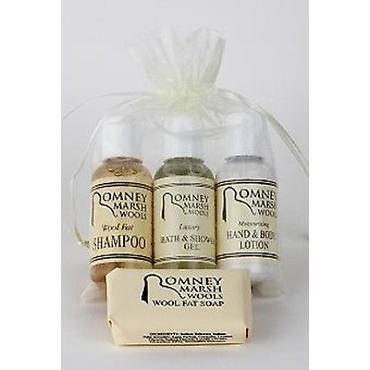 Travel Toiletries Gift Set- H&B Lotion, B&S Gel + Hand Wash