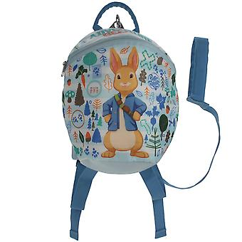 Peter Rabbit Boys Baby Blue Children's Backpack Age 1-4