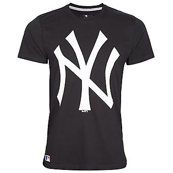New Era Basic Shirt - MLB New York Yankees navy