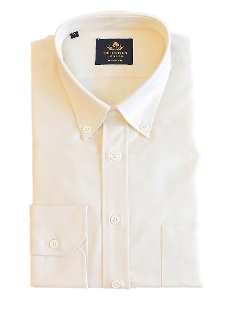 Thomas mason oxford light yellow shirt