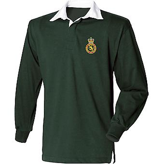 Army Cadet Force - Licensed British Army Embroidered Long Sleeve Rugby Shirt